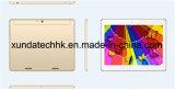 10.1 núcleo Android Mtk6580 Ax10h do quadrilátero do processador central do PC 3G da tabuleta da polegada