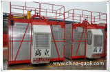 Gaoli Sc200/200上昇の構築の起重機2トンの電気起重機のエレベーターの
