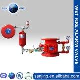Válvula de alarma de calidad superior de automatización se moje el sistema contra incendios
