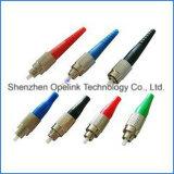 Aus optischen Fasernverbinder für optische Steckschnür für CATV u. LAN