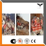 Graniet 0.5200mm de Installatie van de Stenen Maalmachine