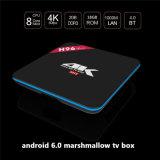 La caramella gommosa e molle H96 PRO S912 del Android 6.0 di servizio su ordinazione della fabbrica si raddoppia casella di memoria 4k TV del quadrato di WiFi