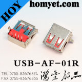 Prise USB 2.0 a 90 degrés pour produits informatiques (USB-AF-01)