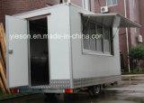 Heißer Verkaufs-mobiler Lebesmittelanschaffung-Schlussteil-/bewegliche Gaststätte-mobiler Nahrungsmittel-LKW