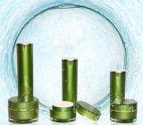 化粧品の包装のための新しい到着15g/30g/50gの緑のアクリルの円形のクリーム色の瓶(PPC-ACJ-065)