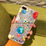 Cella liquida della stampa del fumetto della sabbia/coperchio telefono mobile per il iPhone 6s
