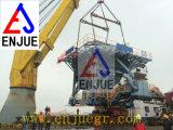Dock-Schienenzufuhrbehälter mit Staubbekämpfung-Geräten-Zufuhrbehälter für das Entladen der Bulkladung