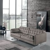 Migliore sofà moderno di vendita del cuoio genuino dell'Italia con 3 la sede (L720-18-1)