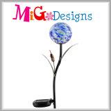 Свет коль сада металла и стекла цветка солнечный приведенный в действие