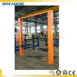 Deux gerbeurs automatiques clairs de maintenance de véhicule du poste Floor4500kg
