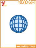 Cadeau fait sur commande de bijou d'émail d'insigne de bouton de logo (YB-HD-138)