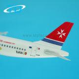 Conjunto corporativo del regalo de los aviones modelo del 1:200 el 18.8cm de Malta A320 del aire