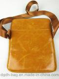 La cartella di cuoio di affari di modo insacca il progettista di cuoio dei sacchetti degli uomini