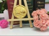 Медаль игры футбола бронзы серебра золота сплава цинка