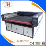 1800*1400mm grosser Arbeitsbühne-Laser-Scherblock mit Self-Feeding System (JM-1814T-AT)