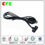 Магнитный разъем зарядного кабеля для коробки управлением привода