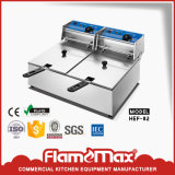 Friteuse profonde d'air électrique industriel automatique à vendre (HEF-162)