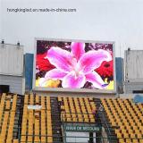 Visualización de pared video al aire libre a todo color de P10 2scan LED