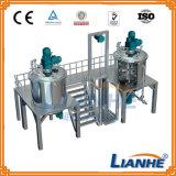 Máquina de emulsión del vacío del homogeneizador cosmético del mezclador