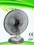 16 Gleichstrom-24V des grauen Tischventilator-Solarzoll ventilator-(FT-40DC-G1)