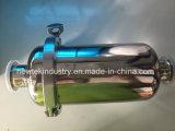 Kompatibles Inline-Grobfilter des kurzen Tri Klee-1.5inch mit der 102mm Karosserie