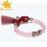 Smb-16120218 hete van de het kristalSteen van de Manier Roze Britse van de Juwelen Armband
