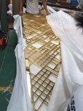 Colore dorato degli schermi decorativi dell'acciaio inossidabile dei divisori del metallo