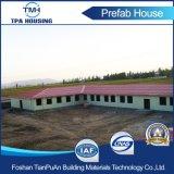 Construcción de viviendas prefabricada del marco ligero de la estructura de acero hecha del panel de emparedado