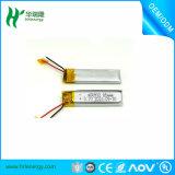 Kleine Batterie 3.7V 400932 des Lithium-80mAh