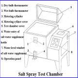 Machine de test de regain du sel Ysst-270 avec l'équipe professionnelle