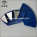 Sapata de moedura magnética abrasiva do diamante J20 para o segmento do concreto 3