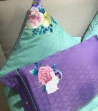 Fundamento luxuoso personalizado do gêmeo do algodão da escova para o quarto