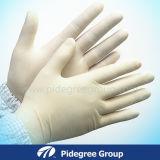 Die Gesundheits-Latex-chirurgischen Handschuhe, die durch Gamma Strahlung ISO13485 entkeimt wurden, bestätigten durch SGS