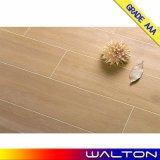 Azulejo de suelo de cerámica de madera rústico del AAA Foshan Porelain del grado (6624)