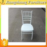 Cadeira barata por atacado de Tiffany do metal branco para a venda