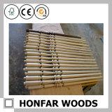Interior Material de construcción Pasarela de madera maciza de la escalera