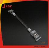 Ps-materieller Speicher-fördernder Plastikbildschirmanzeige-Klipp für Preis-Bildschirmanzeige