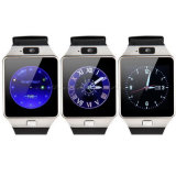 Wristwatch часов Dz09 вахты франтовского телефона Bluetooth спорта франтовской толковейший с SIM Reloj для Android положения сна показателя сотового телефона