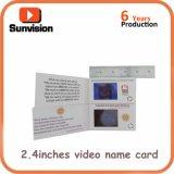 Promocional anunció las tarjetas de felicitación video del LCD de la invitación de 4.3 pulgadas