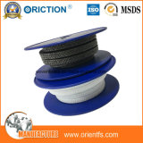 Molino pila de discos el embalaje de la grasa del sello del vástago de válvula del embalaje de la fibra de acrílico PTFE