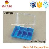 6 de Kleurrijke Plastic Doos van het compartiment