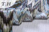 家具製造販売業のジャカードファブリック鋸歯パターンソファーファブリック(FTH32138)