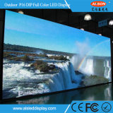 Panneau fixe d'Afficheur LED de l'IMMERSION P16 extérieure d'intense luminosité