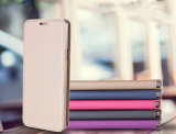 Caso da tampa do telefone móvel da aleta da função de Kickstand para HTC U ultra