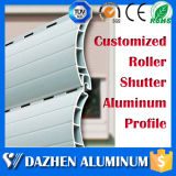 Automatischer elektronischer Rollen-Blendenverschluss-beschichtete Aluminiumstrangpresßling-Profil mit Puder