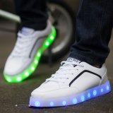 Hotest中国の良い価格の涼しいデザインばねLEDの余暇の靴