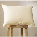 Мягко теплая белая гусына вниз Pillow с тубопроводом