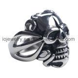 外科鋼鉄宝石類のリング