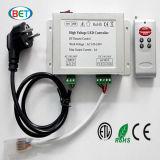 Controlador remoto da tira do diodo emissor de luz do RF RGB com Ce RoHS