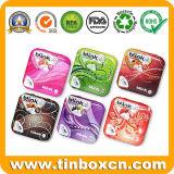 Квадратная и прямоугольная Mint коробка олова, жестяная коробка конфеты, олово кондитерскаи с шарниром, упаковкой еды аргументы за олова металла